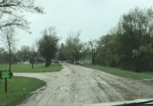 Iowa State Muddy Road-1