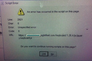 error message-cs blog
