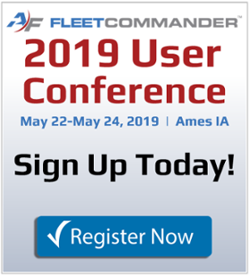 2019 FleetCommander User Conference - Register NOW!